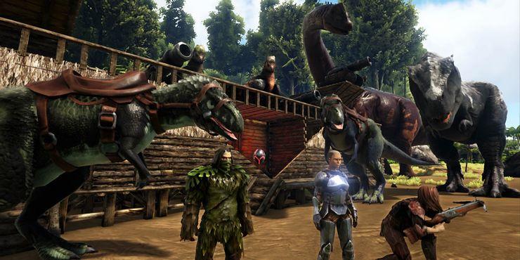 formando-equipo-en-ark-survival-evolved